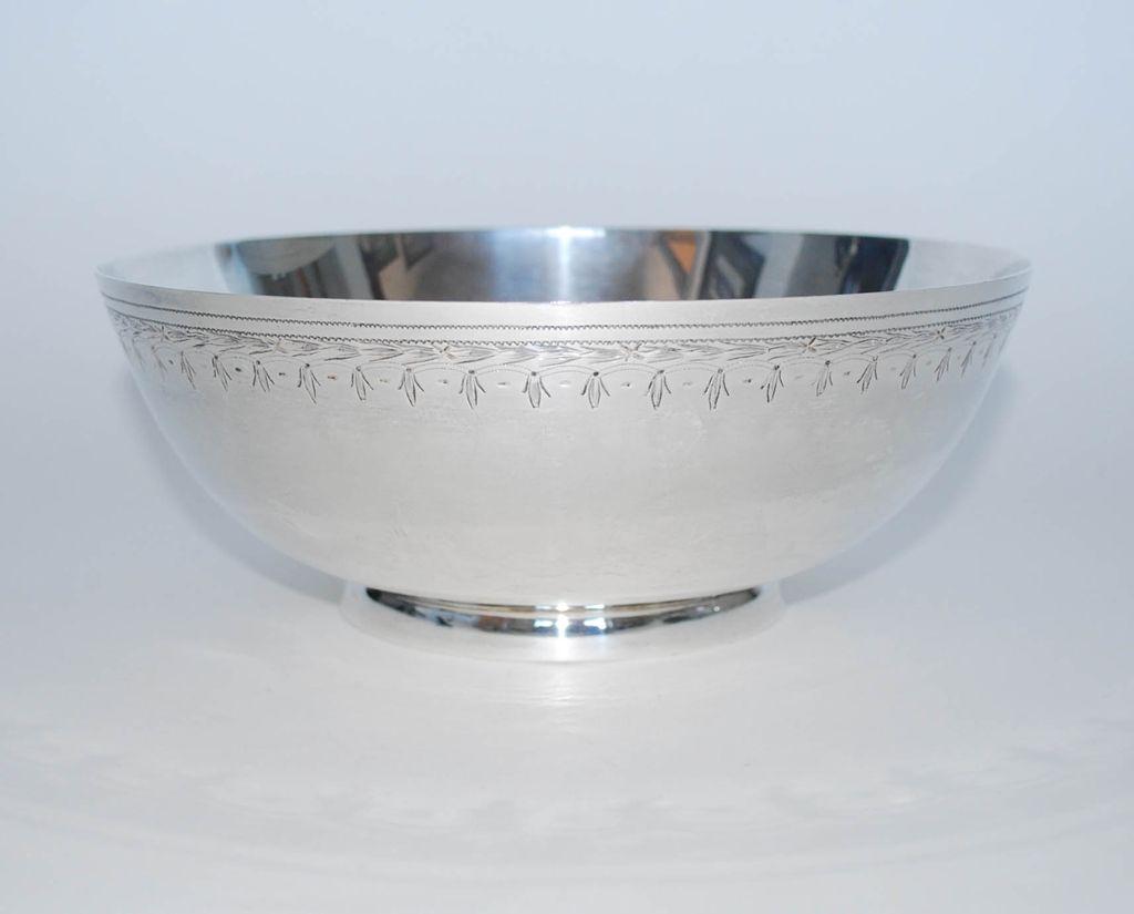 Sterling Silver Fruit Bowl Frank Whiting Amp Co Vintage