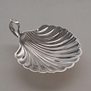 Sterling Silver Nappy, Shell Shaped: Vintage
