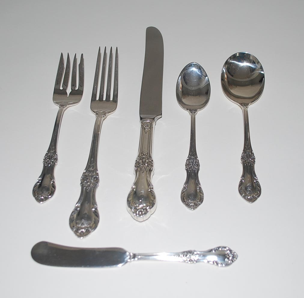Sterling Silver Flatware Service, International Silver, Vintage