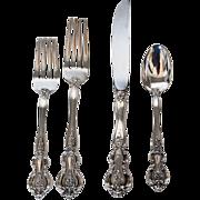 Vintage Sterling Silver Flatware Service for Twelve (12), Kirk