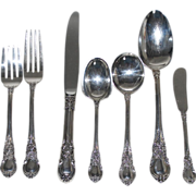 Vintage Sterling Silver Flatware by Lunt, Service for Six (6)