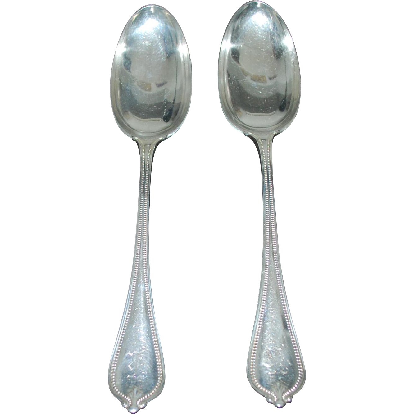 Sterling Silver Seving Spoons, Towle, Large