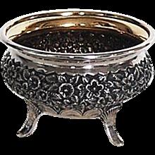 Antique Sterling Silver Master Salt, Dominick & Haff, 1873