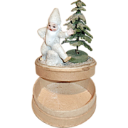 1920's Gnome & Christmas Tree Candy Container - Red Tag Sale Item