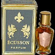 "1952 Jean D'Albret ""ECUSSON"" Full Mini Perfume in Box"
