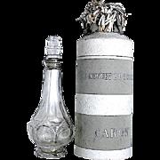 "Caron ""Le Muguet Du Bonheur"" Dummy Perfume Bottle in Presentation Box"