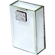 "Lucien Lelong ""Mon Image"" Mini Perfume in Mirror Case w Outer Box"