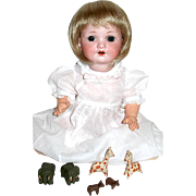 """HTF Adorable 12"""" Armand Marseille Character 985 Baby Doll"""