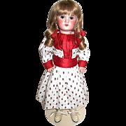 "Gorgeous SFBJ Jumeau 18"" Doll—Original SFBJ Body - Red Tag Sale Item"