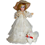 "Rare A/O Belton 7"" Character Doll Made for French Market"