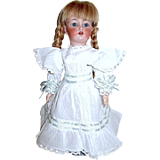 50% Price Reduction:  Gorgeous Simon Halbig 1159 Cabinet Doll w Three Costumes