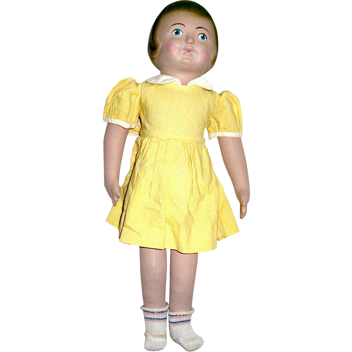 "Martha Chase 16"" Hospital Girl Doll--Pristine, Orig. Clothing"