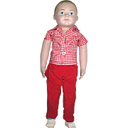 Martha Chase Child Hospital Boy Doll--Marked--Perfect