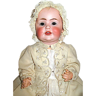 Precious Dome Head JDK Marked Baby Jean Doll w Working Crier