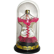 "Vintage ""Naughty 90's"" Figural Femme Fatale Perfume Presentation w Contents"