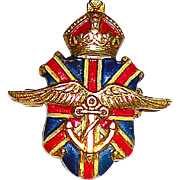 Silson Patriotic British World War II War Relief Pin