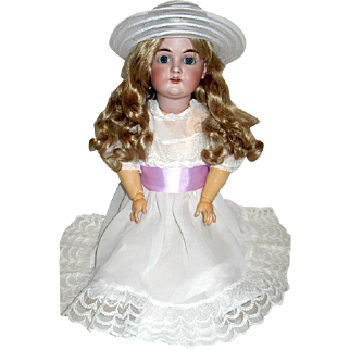 Stunning Elusive KESTNER 167 Doll—Beautiful Bisque Head & Wonderful Original Body