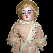 Small Kestner Bisque Turned Shoulder Head Doll — Damaged, for Repair