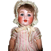 Adorable Schuetzmeister & Quendt Character Baby Doll, Orig. Wig and Costumes