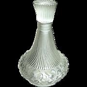 Amazing French Art Nouveau Era Art Glass Perfume Bottle