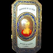 Exquisite 1920's Roger et Gallet Perfume Presentation Box, Marie Antoinette Portrait