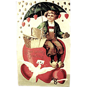 IAP Valentine--Hearts Raining on Dutch Boy