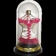 "Figural ""Naughty 90's"" Perfume -- Very Scarce 1950 Presentation"