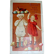 Scarce Easter Squeaker Postcard--Still Works