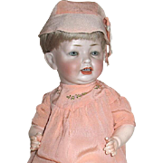 Adorable Hetel and Schwab 152 Doll, Gorgeous Outfit--BONUS 1900'S PHOTO