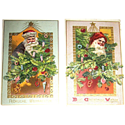 Two Tuck & Sons Santa Claus Postcards Series 505