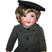 Mischievous  Antique Bahr & Proschild TODDLER Character Doll