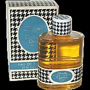 "Unused Original 70's Christian Dior ""DIORELLA"" MIB, Houndstooth Design"