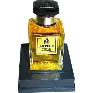 LANVIN Arpege Parfum 1/2 oz., Unopened and on Base