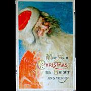 Stunning Winsch Samuel Schmucker Designed Santa Claus Postcard