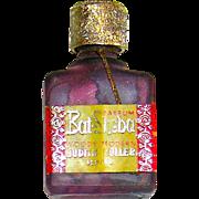 "Vintage Judith Muller Miniature ""BAT SHEBA"" Perfume Bottle - Perfect for a Doll House"