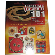 """Collecting Costume Jewelry 101"" Reference Book by Julia Carroll-- 900 Photos"