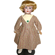 "Cute Checkered Dress for Slim 16"" - 19"" Doll - New Old Store Stock"