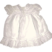 Elegant Vintage Chiffon w Lace Dress For Your LARGE Baby Doll