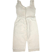 Vintage One Piece Camisole and Pantaloon Undergarment for Your Doll
