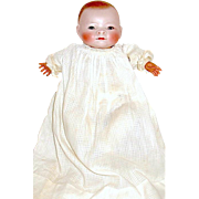 """Superb 10"""" Bye-lo Baby Doll - All Orig. Costume, Fully Marked Chest, Pretty Brown Eyes"""