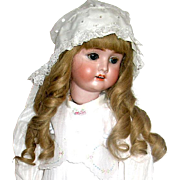 "Stunning Antique German 25"" Schoenau and Hoffmeister Doll Named ""VIOLA"", Beautifully Dressed"
