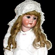 "Stunning Antique German 25"" Schoenau and Hoffmeister Doll Named ""VIOLA"", Beautifully Dressed"