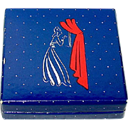 "Scarce World War II ""Evening in Paris"" Cardboard Rouge Compact, Unused"