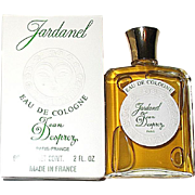 "Discontinued Vintage Jean Desprez ""Jardanel"" Eau de cologne 2 oz., MIB"