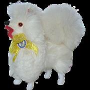 Vintage German Miniature Pomeranian Fur Dog for Dolls