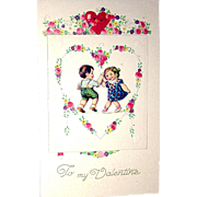 Delightful Winsch Valentine's Day Postcard Booklet by Jason Freikas