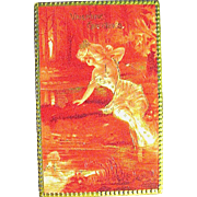 """Tuck & Sons """"IDYLLS"""" Valentine Series ~ Beautiful Nymph, Cupid in Pond"""