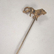 The Lion Buggy Co. Cincinnati, Ohio Metal Stickpin