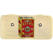 Keen's Mustard Celluloid Game Counter