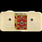 Keen's Mustard Celluloid Game Counter